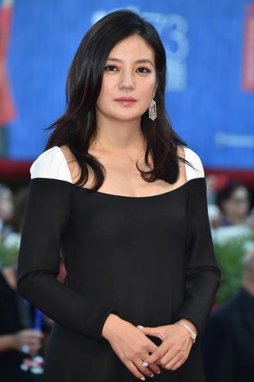 赵薇出席威尼斯电影节