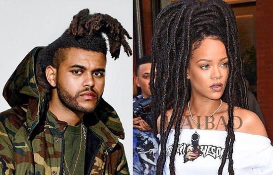 The Weeknd、蕾哈娜 (Rihanna)