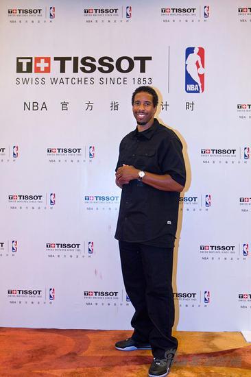 天梭表与NBA篮球先锋安德烈?米勒