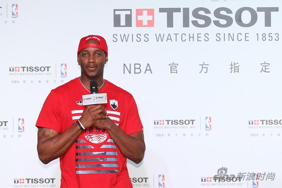 天梭表与NBA篮球先锋特雷西?麦克格雷迪
