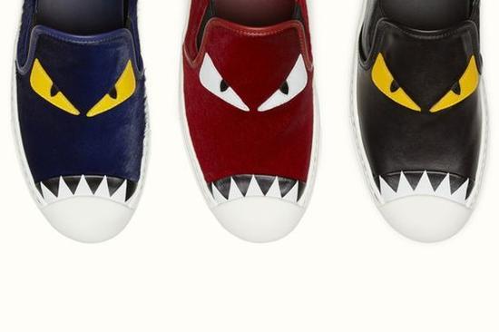 Fendi小怪物运动鞋