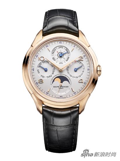 名士克里顿系列万年历腕表