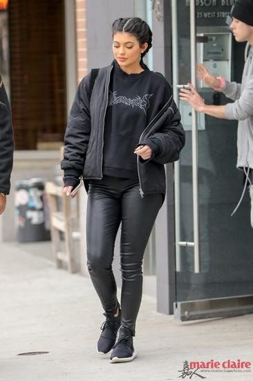 Kylie Jenner私服