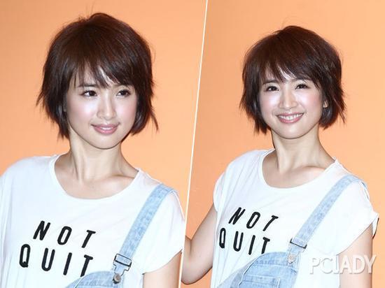 林依晨新发型秒回大饼脸 短发剪对是女神剪错是路人