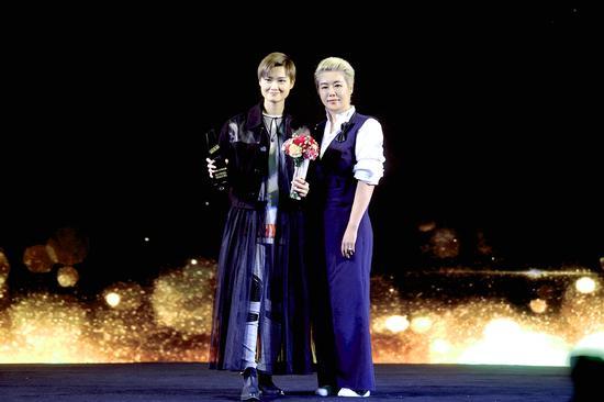亚洲时尚影响力明星:李宇春