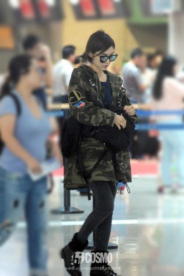 范瑋琪現身機場