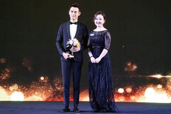 年度最具魅力演员:王凯