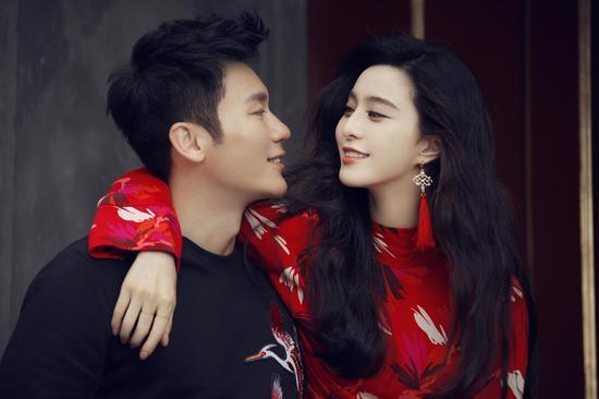 李晨范冰冰携手代言H&M2017年新春系列