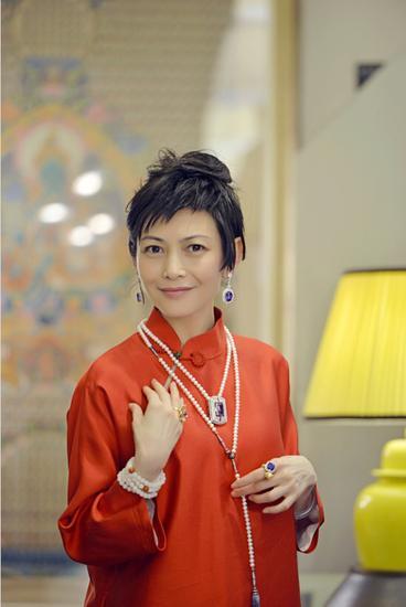 梦想永无止境,美好总要绽放 梓丹艺术珠宝创新跨界北京国际时装周