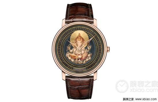 宝珀Villeret系列象头神格涅什款赤铜工艺腕表
