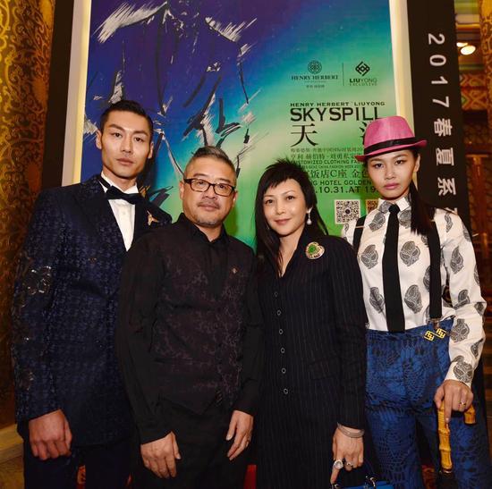 梓丹艺术珠宝创新跨界北京国际时装周