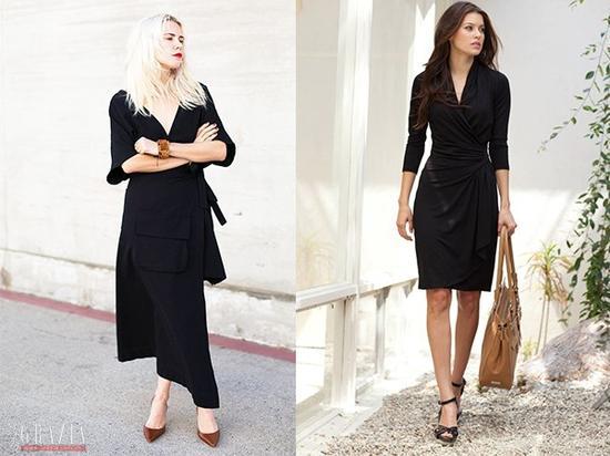 黑色紧身裙