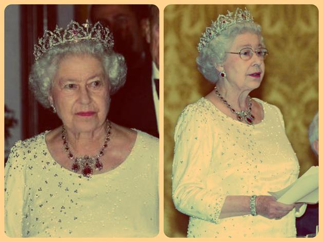 """伊丽莎白二世女王佩戴"""""""""""