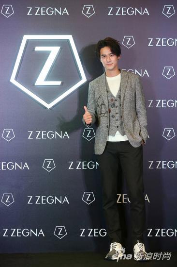 新生代人气偶像蒋劲夫作为Z ZEGNA品牌好友揭幕展览