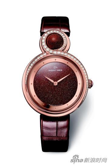 雅克德罗太阳石优雅8腕表