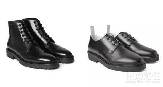 厚重的鞋子