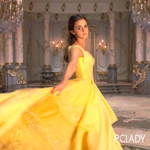 标准的公主头