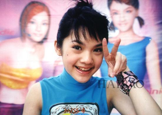 杨丞琳早年出道照片