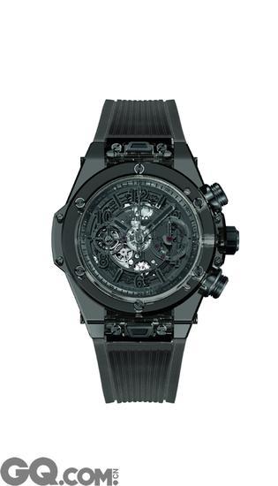 Big Bang Unico蓝宝石全黑腕表