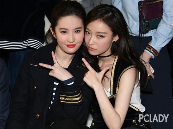 刘亦菲和倪妮