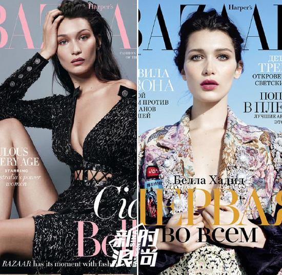 Bella登杂志封面