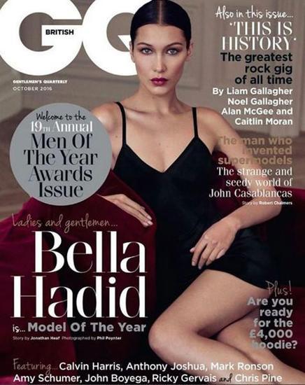 Bella Hadid封面照