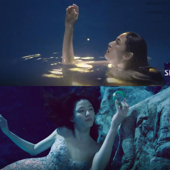 水下镜头唯美