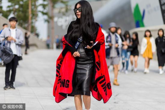 首尔时装周 街拍潮人