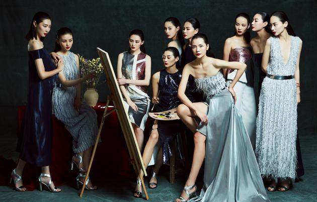 中国时尚大奖2016年度中国十佳职业时装模特大片