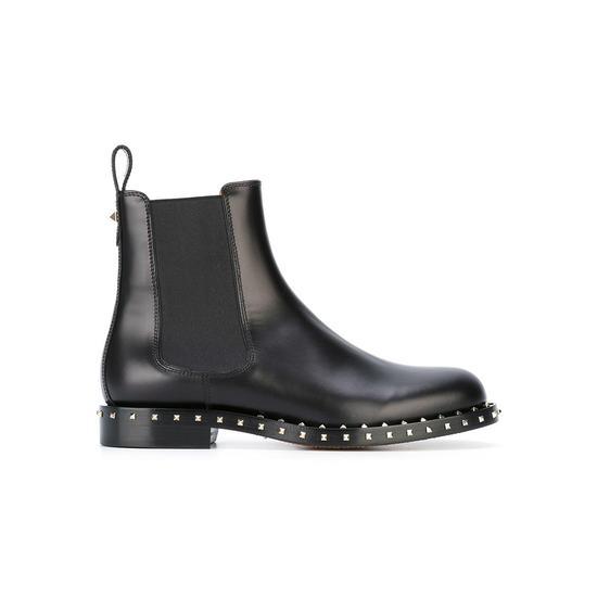 VALENTINO 'Rockstud'切尔西短靴