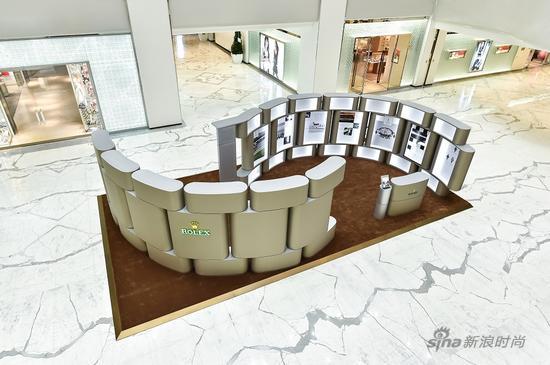 劳力士迪通拿展览现场空景图(图片来源:?Rolex)