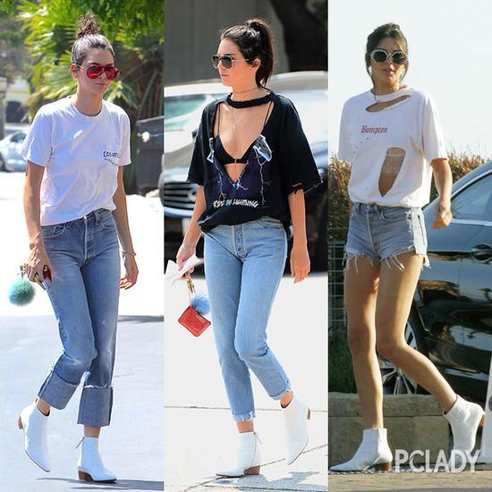 肯达尔·詹娜(Kendall Jenner)街拍