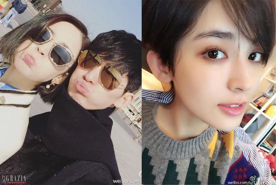 2016年度赵丽颖领衔花旦集体变时髦