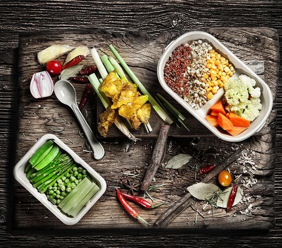 减脂餐6原则 学超模吃出好身材