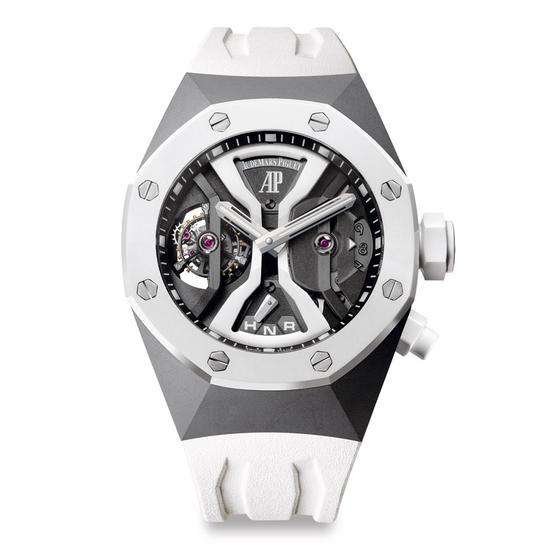 皇家橡树格林威治标准时间概念陀飞轮腕表
