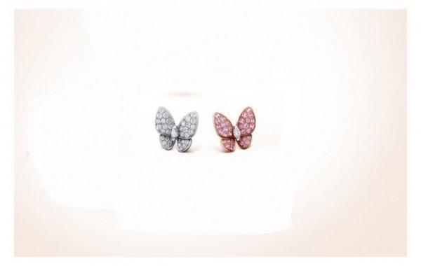 Van Cleef & Arpels 梵克雅宝 Flying Beauties系列耳环