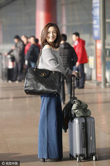 刘芸机场照