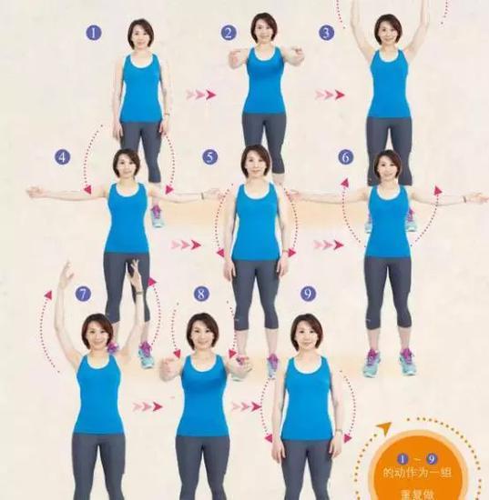 全身强化拉伸操越拉越瘦 运动前后必备