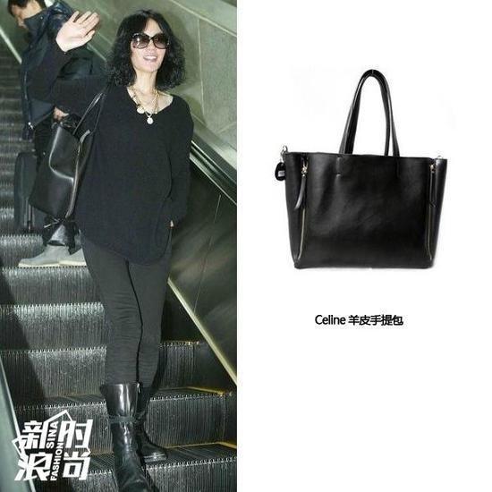 王菲背Celine包包2