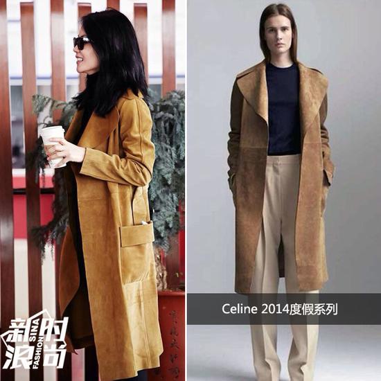 王菲穿Celine 2014度假系列