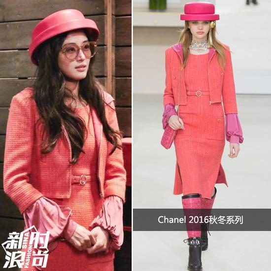 全智贤戴Chanel礼帽
