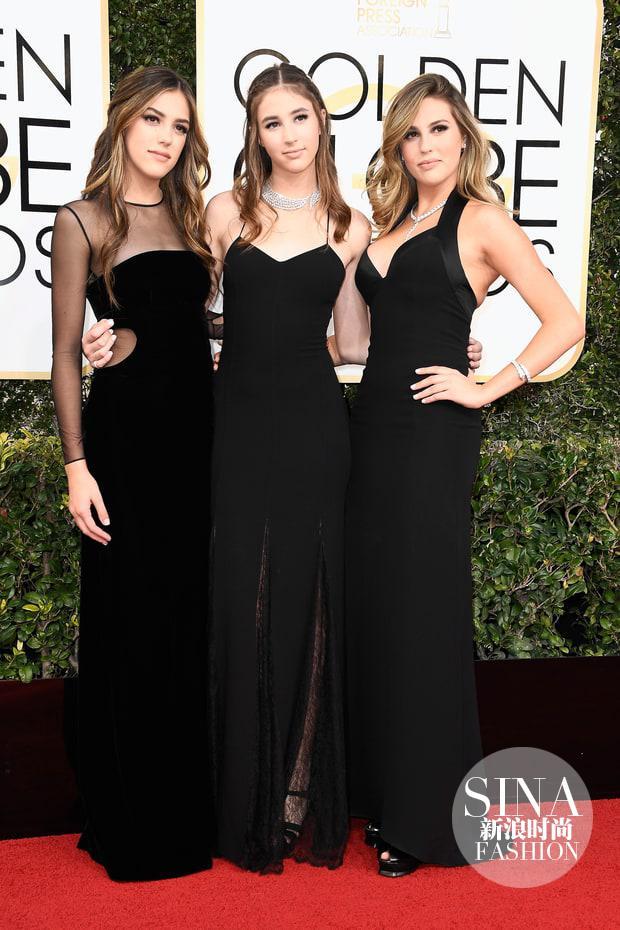 Sistine, Scarlet, Sophia Stallone Chanel