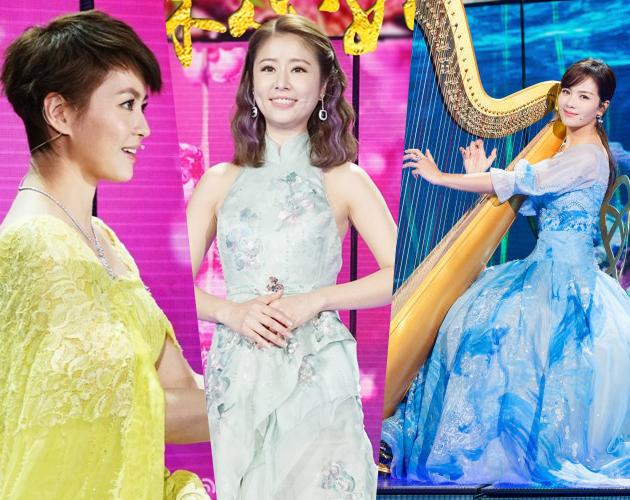林心如刘涛梁咏琪的歌曲表演《山水中国美》