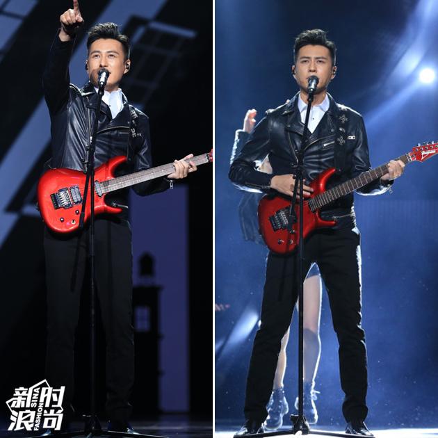 靳东跨年晚会表演