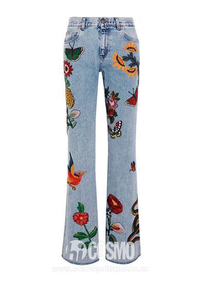 Gucci 喇叭裤