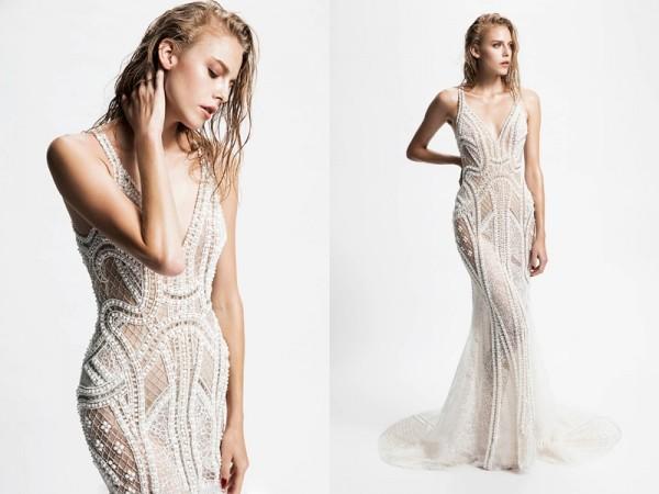 钻石对于婚纱来说尤为重要。