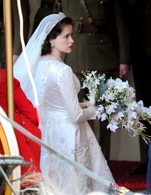 Claire Foy拍摄《皇冠》