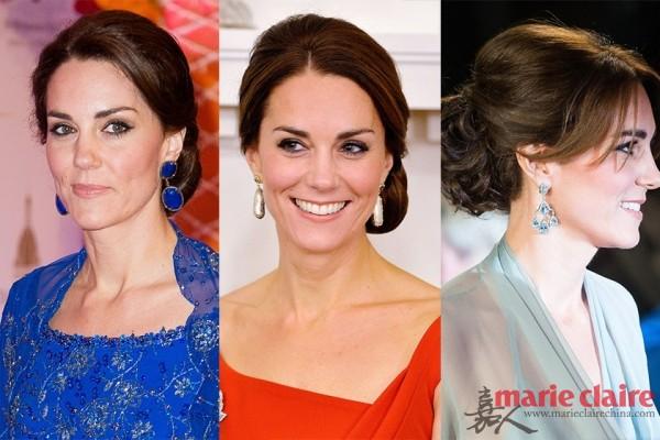 凯特最拿手的耳环搭配。