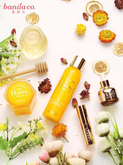 REAL蜂蜜带来的滋养力 NEW芭妮兰全新花蜜保湿系列