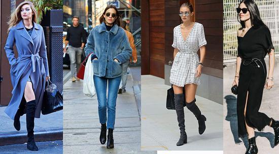 靴子好看又显腿长 这几种穿法永远时髦在线